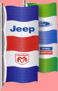 Dealer Logo Flags