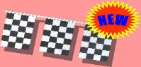 Heavy Duty Checkered Pennants