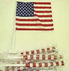 US Clip-on Flags