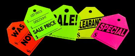 Rearview Mirror Hang Tags