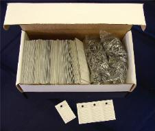 box of 500 T-16 Key Tag